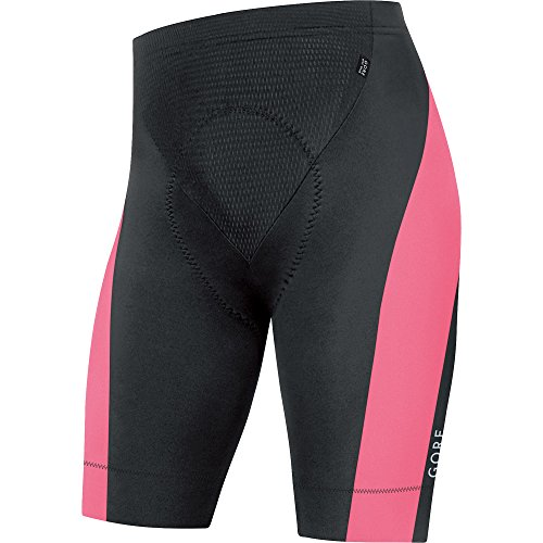 GORE WEAR Herren Tights Kurz Power 3.0 Black/Giro Pink, M
