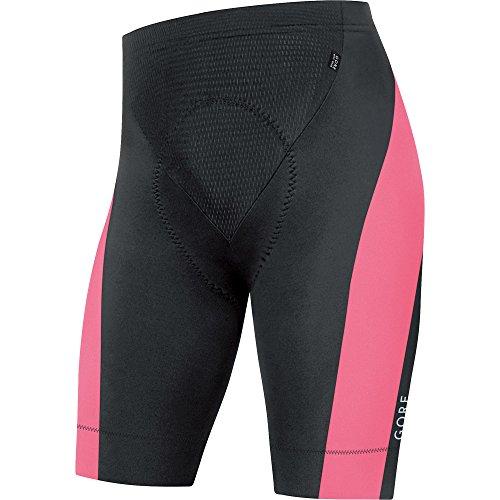 Gore Bike Wear Ttspow Short+ Power 3.0 Tights, Uomo, Nero (Black/Giro Pink), XXL