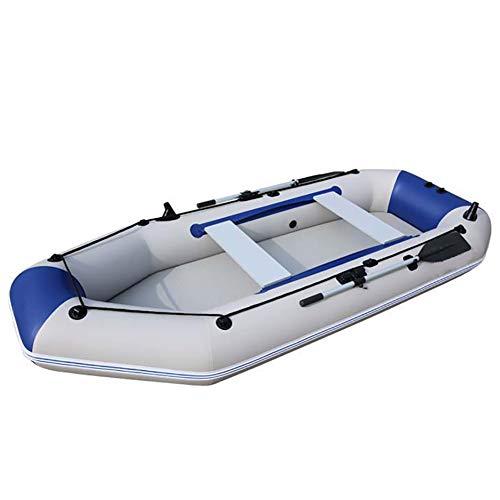 Dmbhw professione rafting all'aperto canotto gonfiabile 3.0m scialuppa di salvataggio gommone marine addensare materiale in pvc con una gamma completa di accessori