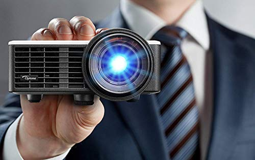 Optoma ML750ST LED Kurzdistanz Projektor (WXGA, 800 LED Lumen, 20.000:1 Kontrast) (Apple Wireless Ac Adapter)