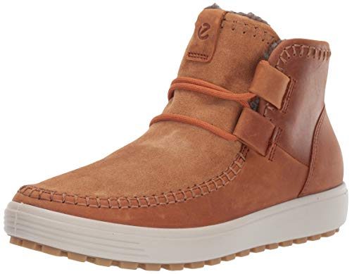 ECCO Damen Soft 7 TRED W Hohe Sneaker, Braun Amber 57624, 37 EU