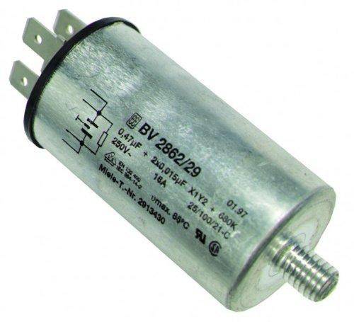 Entstörschutz(WA/TR) 0,47µF, passend zu Geräten von: Miele, orig. 3123851