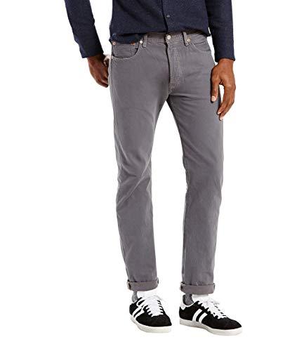 Herren Levis 501 Original Jeans (Levi's 501 Original Fit, Jeans Herren Gr. 40W x 30L, Dark Charcoal Garment Dye)
