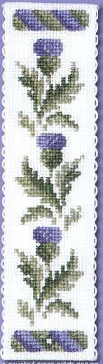Textile Heritage Collection Cross Stitch Bookmark Kit - Victorian