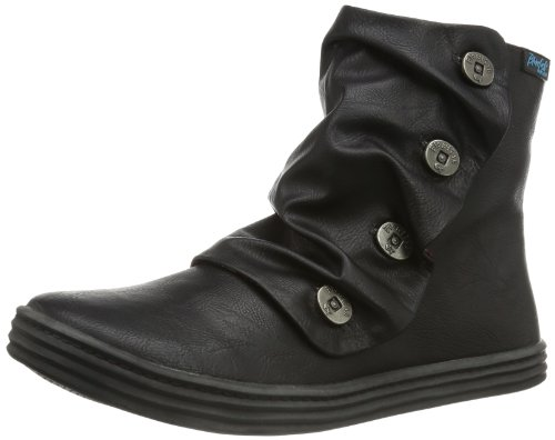 Blowfish Damen Rabitt Kurzschaft Stiefel Schwarz (blk old saddle) 36 EU - Schuhe Stiefel Blowfish