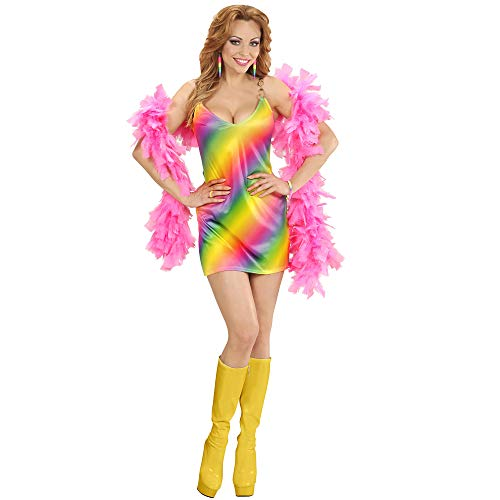 Kostüm Girl Rainbow - Widmann 02313 Erwachsenenkostüm Rainbow Girl, Kleid