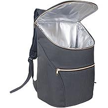 JSK elegante refrigerador aislado bolsa mochila (Rose Zip)