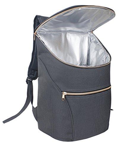 JSK elegante refrigerador aislado bolsa mochila...