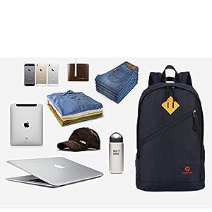 41IMQUR6Z L. SS300  - Fubevod Mochila niños Clasico Moderna Laptop Backpacks Unisex Mochila Escolar para Libro Negro