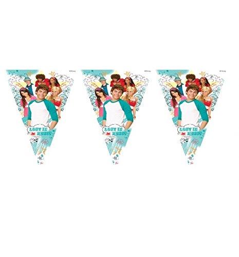 HSM2~ Banner de bandera de High School Musical ~ decoraciones de fiesta de cumpleaños suministros-Vajilla