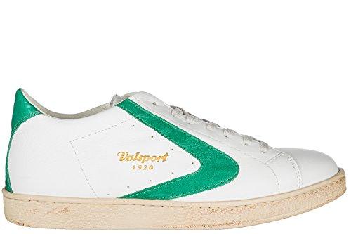 Valsport 1920 Herrenschuhe Herren Leder Schuhe Sneakers tournament Grün EU 44 TOUR004