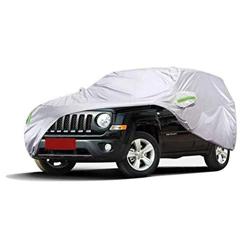 POLKMN Autoabdeckung Im Freien starker Oxford-Tuch-Wasserdichte Schnee-Staubschutz Allwetter schützen UV-Schutz (größe : 2015) (Cabrio Für Auto-alarm)