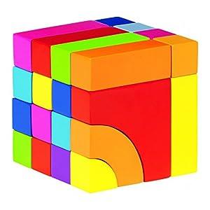Goki 3DPuzzles 3DGOKIPiezas de construccion y Juego de Puzzle,en Bolsa de algodón, Multicolor (Gollnest & Kiesel KG G1023/58660)