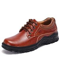 Hombres Zapatos Planos Hechos A Mano Casuales Mocasines De Cuero Vintage Vintage Low Top Mocasines OtoñO