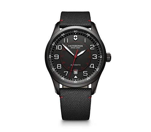 Victorinox Swiss Army Herren Analog Automatik Uhr mit Textil Armband 241720