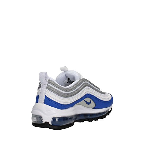 Schuhe Damen Retro Nike Air Max 97 Bianco / Gioco Royal-neutral Grigio