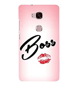 Boss Lips 3D Hard Polycarbonate Designer Back Case Cover for Huawei Honor 5X :: Huawei Honor X5 :: Huawei Honor GR5