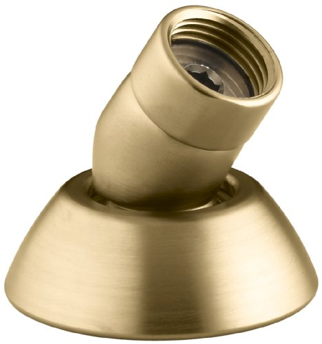 3-Wege-Handbrause Schlauch Guide .5 Vibrant Moderne Brushed Gold - Wand Handshower Set