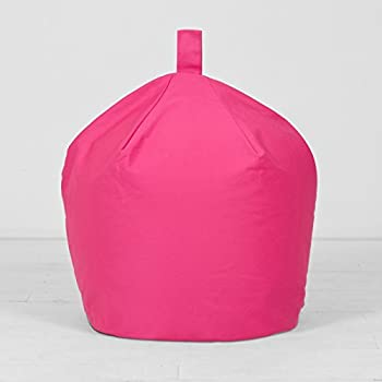 Extra Large XL Childrens Kids Adult Cotton Fuchsia Pink Bean Bag Beanbag Filled