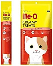 Heads Up for Tails Me-O Creamy Treats Crab Flavour (Pack of 20 Sticks)