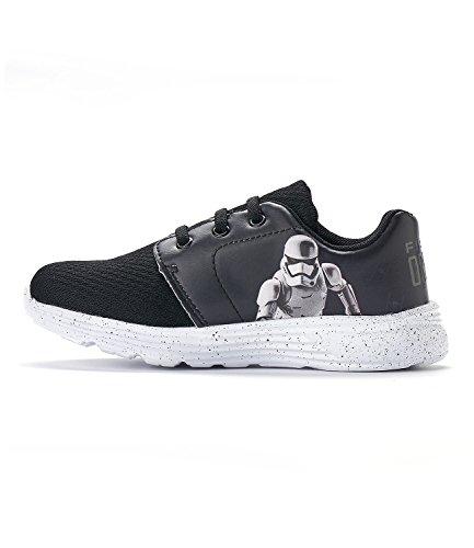 Star Wars-The Clone Wars Darth Vader Jedi Yoda Garçon Sneaker - gris Gris