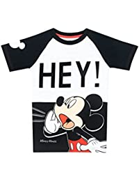 Disney Mickey Mouse Boys Mickey Mouse T-Shirt Ages 18 Months To 8 Years