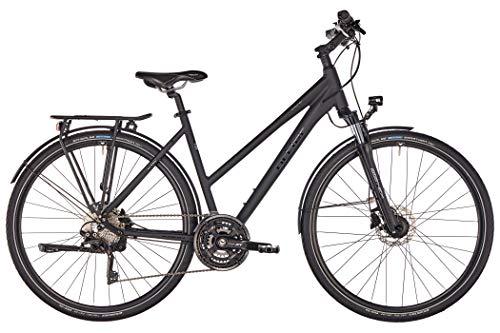 ORTLER Ardeche Damen schwarz matt Rahmenhöhe 50cm 2019 Trekkingrad