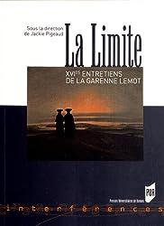 LaLimite : XVIe EntretiensdeLaGarenneLemot