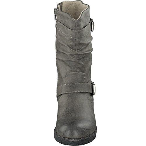 Jane Klain - 266 337, Stivali da motociclista Donna scuro-grigio