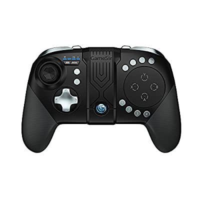 GameSir G5 Bluetooth Game Controller, MOBA/FPS Touchpad, 33 Buttons Wireless Joystick Handle for Android, iOS Phone Portable Gamepad