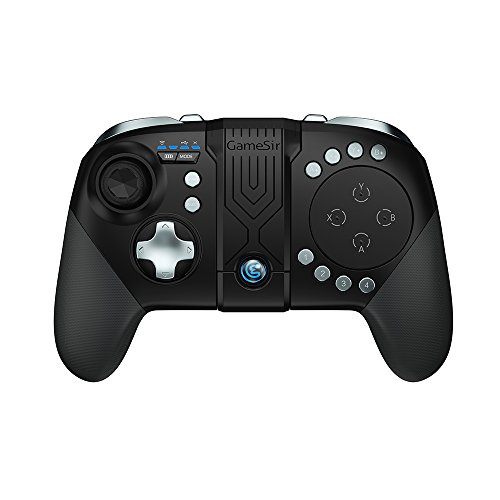 GameSir G5 Bluetooth Game Controller, MOBA/FPS Touchpad, 33 Buttons Wireless Joystick Handle for Android, iOS Phone Portable Gamepad (Klare Wireless-tastatur Eine)