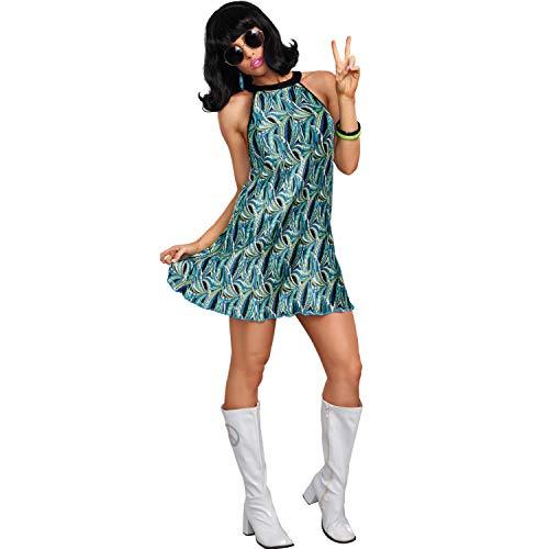 Dreamgirl Damen Kostüm Grinsekatze Alice im Wunderland Tier Katze Fasching (S)