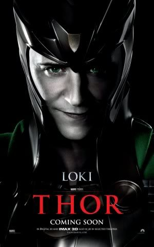 THOR - LOKI - Imported Movie Wall Poster Print - 30CM X 43CM Brand New MARVEL TOM HIDDLESTON