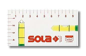 Sola 1616101 R 102 Niveaux à bulle en plastique, Transparent
