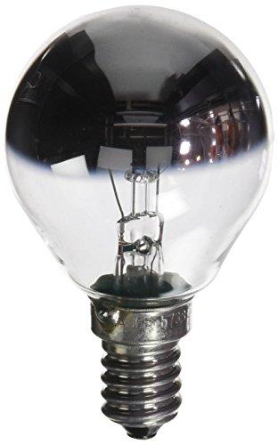 Osram Glühlampe, Spezial Kopfspiegellampe in silber, E14-Sockel, 25 Watt