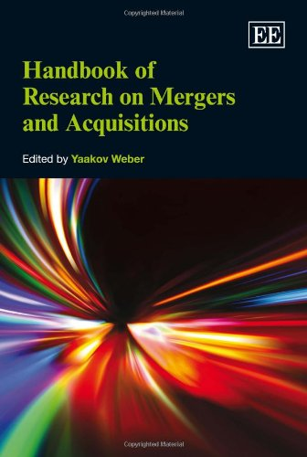 Handbook of Research on Mergers and Acquisitions (Elgar Original Reference) (Research Handbooks in Business and Management Series)