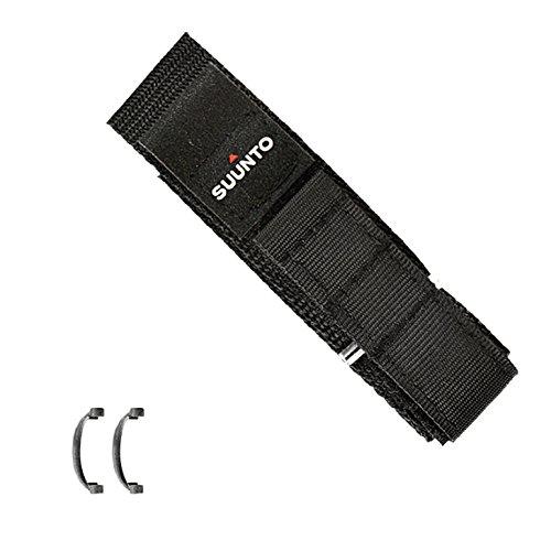Suunto Vector Strap F Cinturino, Nero, Taglia Unica