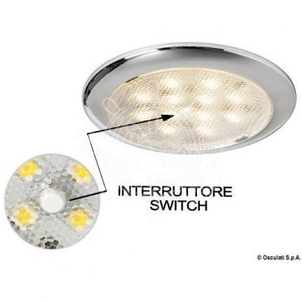 Strahler LED Procion ohne eingebaut mit Schalter IP67OSCULATI