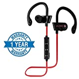 Enraciner Rt-558 Sports Bluetooth Headset with Built-in Microphone for All Smartphones