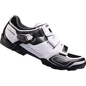 Shimano SH-M089W - Zapatillas MTB para hombre, Blanco, 50 EU