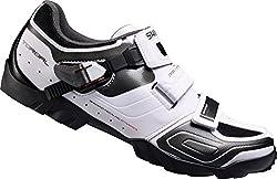 Shimano SH-M089W, Unisex-Erwachsene Radsportschuhe - Rennrad, Weiß (White), 45 EU