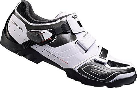 Shimano Men's Sh-m089 Mountain Biking Shoes, Off White (White), 8.5 UK