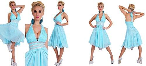 IL BAZAR - Robe - Femme bleu ciel