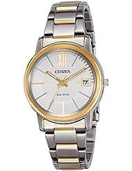 Citizen Damen-Armbanduhr Analog Quarz Edelstahl FE6014-59A