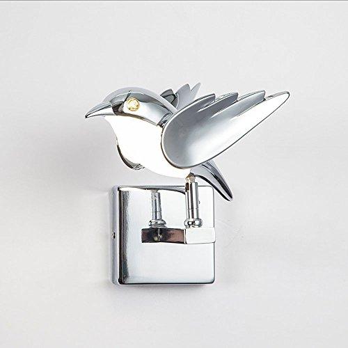 LED European Birds Lampe Murale Lampe De Chevet Simple Aisle Escaliers Chambre Salon La Lumière Murale Peut Être Tournée