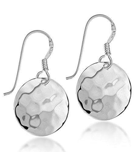 Tuscany Silver Damen - Ohrringe 9 k (375) Rundschliff Diamant 8.56.7959