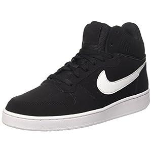 Nike Court Borough Mid, Chaussures de Sport-Basketball Homme, Gris