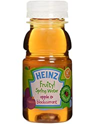 Heinz Fruity Spring Water Apple and Blackcurrant Juice, 6+ Months, 150 ml
