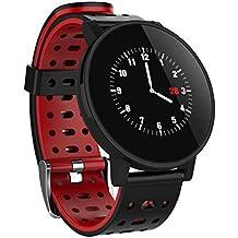 Mamun Smartwatch Nuevo 1.3 Pulsera de Reloj Inteligente con Ritmo de Actividad y Ritmo