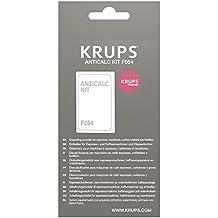 Krups F054001B Kit descalcificación para cafeteras, hervidores y maquinas de café espresso